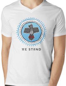 We Stand Mens V-Neck T-Shirt