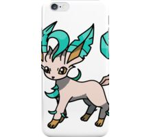 Shiny Leafeon iPhone Case/Skin