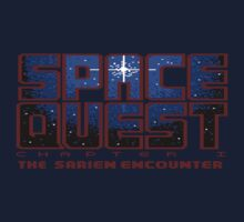 Space Quest Pixel Style - Retro DOS game fan shirt by hangman3d