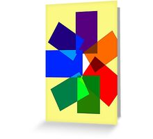 Seven-Sided Kaleidoscope  Greeting Card