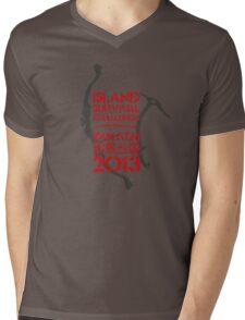 Island Survival Challenge 2013 Mens V-Neck T-Shirt