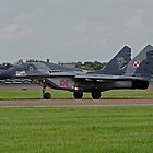 Mikoyan MiG-29A by Barrie Woodward