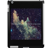 the last dream of my soul. iPad Case/Skin