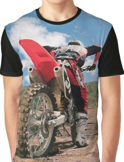 Cool Motocross Start Graphic T-shirt Graphic T-Shirt