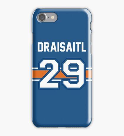 Leon Draisaitl - BLUE iPhone Case/Skin