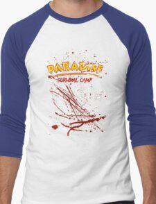 Paradise Survival Camp Men's Baseball ¾ T-Shirt