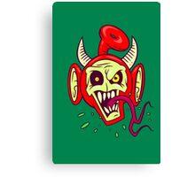 Evil Dead Po Canvas Print