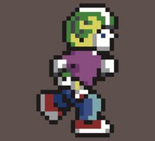 Commander Keen Pixel Style- Retro DOS game fan shirt by hangman3d
