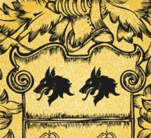 Talbot Family Crest Sticker