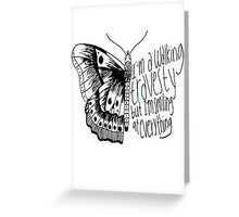 Therapy - Butterfly Greeting Card