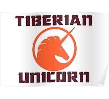 tiberian unicorn Poster