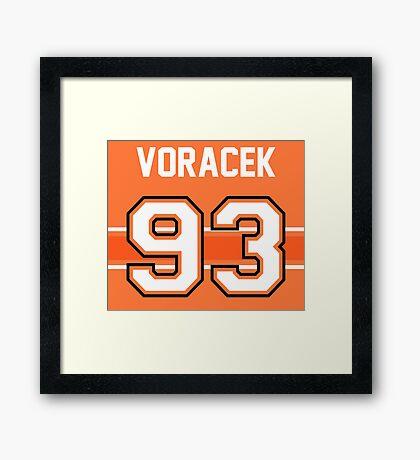Jakub Voracek - Philadelphia Flyers Framed Print