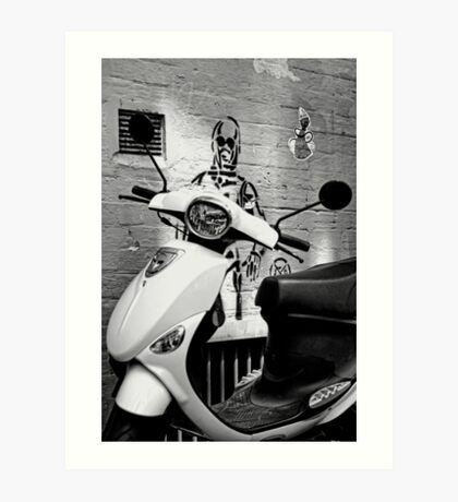 Ride anyone? Art Print
