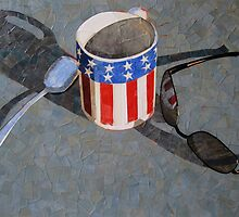 """Card table still life"" by Richard Robinson"