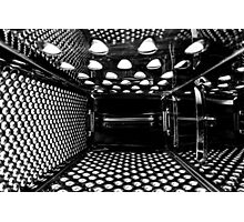 Life Inside A Cheese Grater Photographic Print