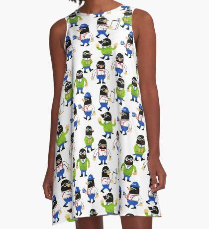 Mole A-Line Dress
