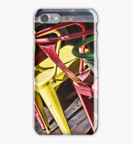Colourful Chairs iPhone Case/Skin