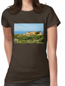 Torrey Pines California - Chaparral on the Coastal Cliffs Womens Fitted T-Shirt