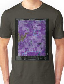 USGS TOPO Map California CA Camptonville 100595 2000 24000 geo Inverted Unisex T-Shirt