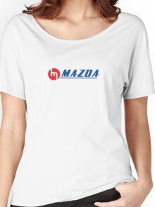 Vintage Mazda Logo Women's Relaxed Fit T-Shirt
