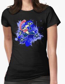 Greninja Makes A Splash Womens Fitted T-Shirt
