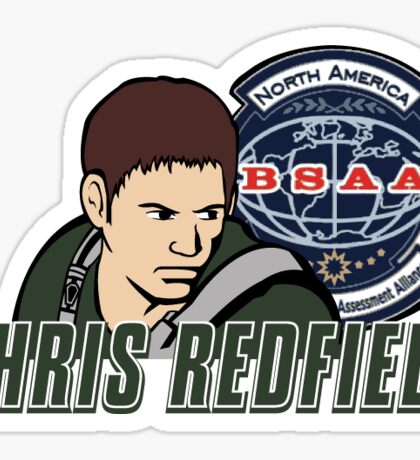 Chris Redfield Sticker