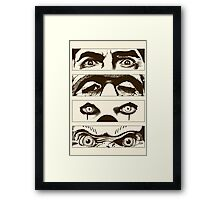 Looks That Kill Framed Print