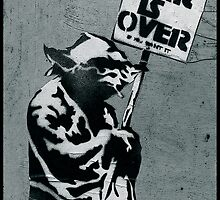 """Yoda says """"War is Over"""" by Tim Constable"""