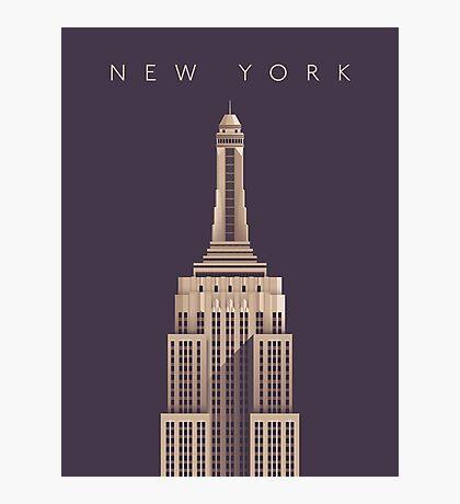 Empire State Building (Alt Vintage) Photographic Print