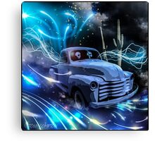 THE GHOST TRUCK RETURNS Canvas Print