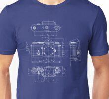 Nikon F Camera Blueprint Unisex T-Shirt