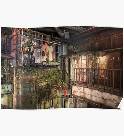 Utopia- Kowloon Walled City Poster
