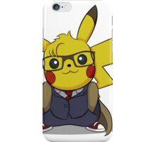 PikaWho - White iPhone Case/Skin
