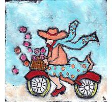 Bike Ride Photographic Print
