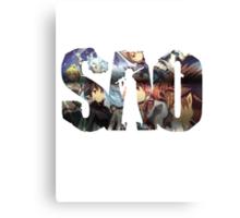SAO Title Canvas Print