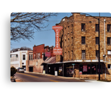 That Small Town Feel... products Canvas Print