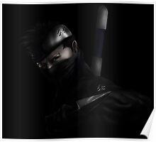 Zabuza Elite ninja dark Poster