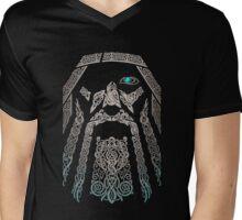 Odin-Vikings Valhalla Shirt Mens V-Neck T-Shirt