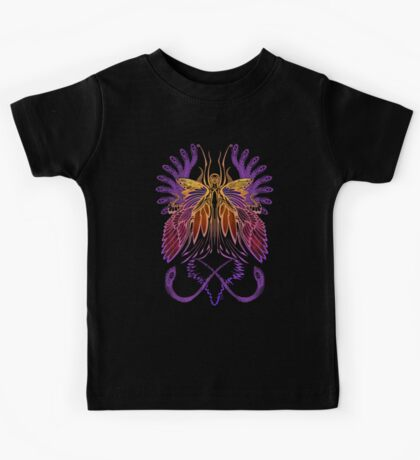 Mab the Queen of Fey (sunset) Kids Tee