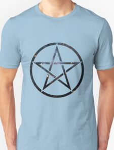 Pentagram Blue Galaxy T-Shirt