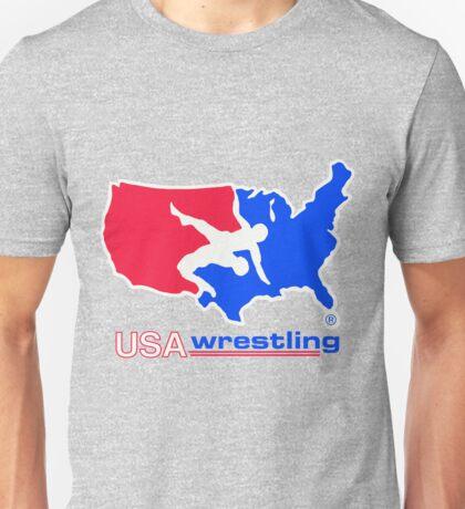 USA WRESTLING LOGO  Unisex T-Shirt
