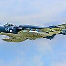 De Havilland Sea Vixen FAW.2 XP924/134 G-CVIX by Colin Smedley