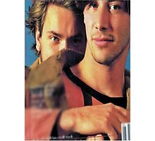 Keanu & River Photographic Print