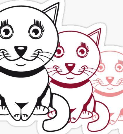 Katze baby süss niedlich design  Sticker