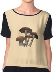 Mushrooms Chiffon Top