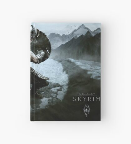 Skyrim warrior  Hardcover Journal