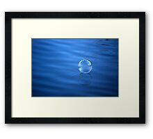 Light Ripples...Gentle Passage  Framed Print