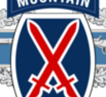 10th Mountain CIB Sticker