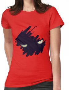 StormCat's Eyes With Brush Strokes Womens Fitted T-Shirt