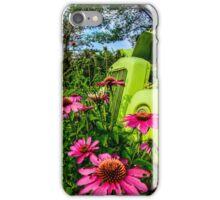Green Metal Pasture iPhone Case/Skin